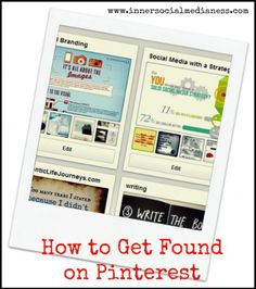 How to get Found on Pinterest