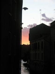 tramonto dal ponte d san pantalon