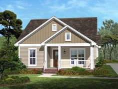 Realistic plan. Woods House Plan