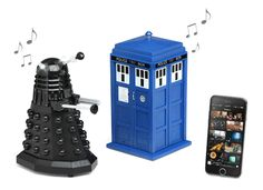 Doctor Who Bluetooth Speakers from Think Geek