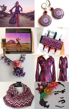 When Purple in Love with Pink by Seden ARICAN on Etsy--Pinned with TreasuryPin.com