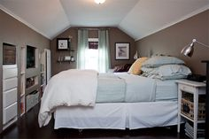 so much awesome home inspiration here i don\u0027t know where to begin Attic Master & 34 best Attic Bedroom images on Pinterest in 2018 | Attic spaces ...