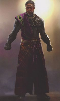 A new wave of Black Panther concept art has surfaced today which shows King T'Chaka's Black Panther costume and these designs sport various features - like a cape - comic book fans will surely recognise! Black Panther Movie 2018, Black Panther King, Black Panther Marvel, Marvel Comic Universe, Marvel Comic Books, Marvel Comics, Comic Book Costumes, Marvel Concept Art, Black Panther Costume