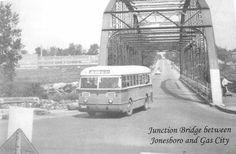 Junction bridge between Jonesboro & Gas City, IN Marion Indiana, Gas City, Birth Year, Martin Boots, Local History, Old Pictures, Historical Photos, Bridge, Memories