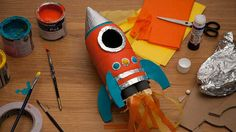 Image: Transform a bottle into a rocket in 6 easy steps