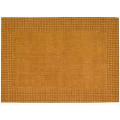 Kathy Ireland Cottage Grove Wool Rug, Orange