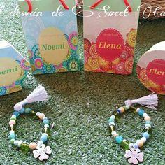 Unas pulseras de regalo para Noemí y Elena