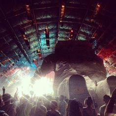 Enjoying Fatboy Slim in the Sahara Tent @Coachella Fella with fellow explorers.  Out of this world! @Poetic Kinetics #poetickinetics #coachellaastronaut www.PoeticKinetics.com