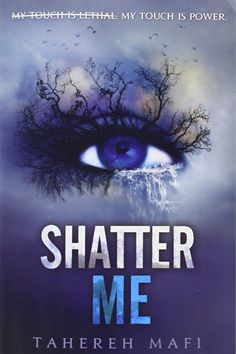 """The Next Hunger Games: 6 Dystopian YA Novels To Read  #refinery29  http://www.refinery29.com/best-ya-books#slide2  Shatter Me by Tahereh Mafi   """"Bad things happen when people touch Juliette. It's why she's locked up, why she needs to be alone, and why the Reestablishment can't wait to recruit her. But, Juliette isn't a soldier, and she certainly isn't a weapon. She's just a girl, staring at a boy she thought she'd lost forever. This fast-paced dystopian novel is set apart by its intimate…"""
