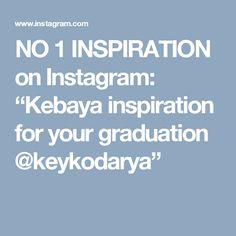 "NO 1 INSPIRATION on Instagram: ""Kebaya inspiration for your graduation @keykodarya"""