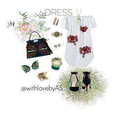 """""""Spring love💓"""" by withlovebyas on Polyvore featuring Nine West, Fendi, House of Sillage, Estée Lauder, Dolce&Gabbana, Michael Kors, Pomellato and Marc Jacobs"""