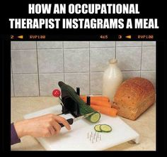 The ETAC Food Preparation System is a durable cutting board ideal for those who have difficulty in gripping, or only have the use of one hand. What Is Occupational Therapy, Occupational Therapy Assistant, Ot Therapy, Therapy Quotes, Therapy Ideas, Ot Memes, Ot Month, Medical Humor, Education Humor