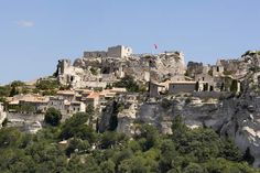 La Baux is a stunning walled medieval city in Provence, France It was fun to explore all the nooks & crannies  inside the walls that now are shops & restaurants.