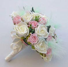 light pink, dark pink, and orage floweral boquets   flowers wedding buttonholes wedding corsages flower arrangements ...