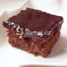 Perník na plech recept - Vareni.cz Deserts, Sweet, Postres, Dessert, Desserts