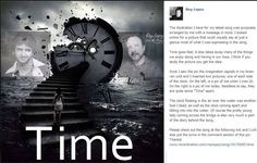 "The story behind my song ""Time"". Please check out the song at the following link and I will also put the lyrics in the comment section of this pic. Thanks! www.reverbnation.com/reylopez/song/19170095-time"
