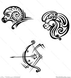 Sagittarius tattoo design - Royalty-free stock photo image available at www.The3dStudio.com, the oldest and largest 2D and 3D resource site on the internet. It's fast and easy to buy stock photos and images at T3DS--no credits or subscriptions; stock photo prices start at $2.