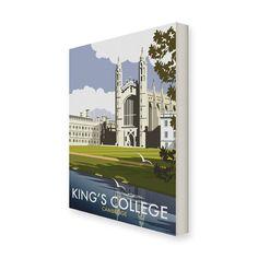 Trinity College Cambridge Tea Towel Dave Thompson University