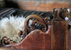 Norwegian traditional bed