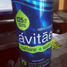 Just what I've been looking for the perfect #marriage of #caffeine and #water #h2o #perfectmarriage #shakyhands #hydration #avitae