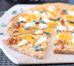 Butternut Squash Pizza with Brown Butter Base