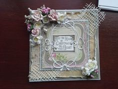 Made by Liz Imber #spellbinders #christmascard
