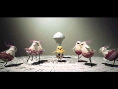 Title: Ballet of Unhatched Chicks Running Time: Director: Shaun Seong-Young Kim Storyboard, Layout, and animation :Shaun Seong-Young Kim Texture: So-young… Brain Break Videos, Cute Songs, School Videos, Music Composers, Piano Teaching, Music For Kids, Elementary Music, Music Classroom, Educational Videos