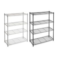 4-Tier Accent Shelf - BedBathandBeyond.com - affordable storage idea for baking supplies