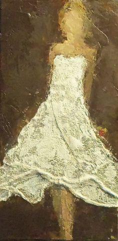 Leather & Lace II by Holly Irwin | dk Gallery | Marietta, GA | SOLD