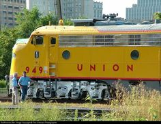 RailPictures.Net Photo: UP 949 Union Pacific EMD E9(A) at Omaha, Nebraska by The Unknown Photographer