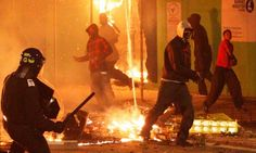 Violent scenes erupt in Rochdale -- Violent scenes today in Rochdale as the public demonstrates their extremeanger that Honey G remains in the X Factor while genuinely talented peoplehaven't bothered with the career ending puppet show. The violence focussed on the Drake Street area of the town with... -- #Riots, #Rochdale, #XFactor -- http://wp.me/p7GOKB-1VM