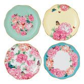 "Found it at Wayfair - Miranda Kerr 3.9"" Tidbit  Accent Plate 4 Piece Set"