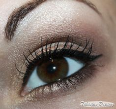 nude eye make up using: Catrice Absolute Nude Eyeshadow Palette, more photos: http://www.talasia.de/2013/01/24/catrice-absolute-nude-und-fotd-mit-anderen-catrice-neuheiten/