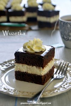 Opowieści z piekarnika: Wuzetka Cupcake Cakes, Cupcakes, Tiramisu, Cheesecake, Baking, Ethnic Recipes, Easy, Food, Pies