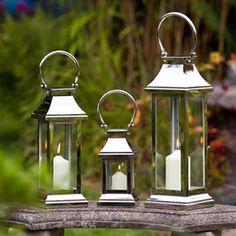 Image detail for -Garden Lanterns | Tall Lanterns | Candle Lanterns | Wedding