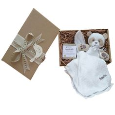 One Little Panda in a box Organic baby gift. #organicbabygifts