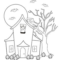 haunted house | Haunted houses, House and Embroidery