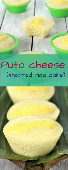 Puto Cheese Recipe - Soft and fluffy, made from scratch using flour.