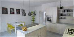 Ecco una delle nostre realizzazioni per i clienti. Una cucina dell'aria fresce e giovanile. Se vuoi saperne di più visita il nostro sito: http://www.formatabitativi.it/it/news/evviva-la-primavera