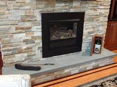 stacked fireplace bay and appleton brick and fireplaces 187 stack