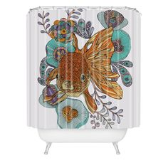 DENY Designs Home Accessories | Valentina Ramos Little Fish Shower Curtain