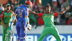 Bangladesh faced Afghanistan in their opening game of the ICC World Cup 2015 at the Manuka Oval, Canberra. Afghanistan bowlers dominated early in the… First World Cup, World Cup Match, Afghanistan, Victorious, Cycling, Cruise, Running, Afghans, Ali