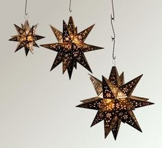 Tin Stars and Decor from The Deal Place