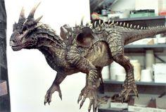 Dragonheart scanning maquette - Peter Konig