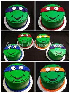 Teenager Mutant Ninja Turtles Cake TMNT
