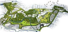 West 8 Urban Design & Landscape Architecture / projects / Máximapark (formerly Leidsche Rijn Park)