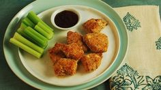 Buttermilk Bathed Chicken Nuggets from The Six O'Clock Scramble at PBS Parents Kitchen Explorers