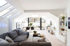 Rear and side extension with skylight. By Banda Property © Phil Durrant…