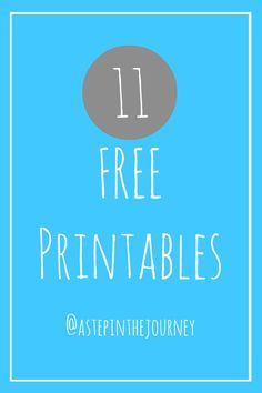 Great round of of scripture, seasonal, and inspirational printables. all for FREE!