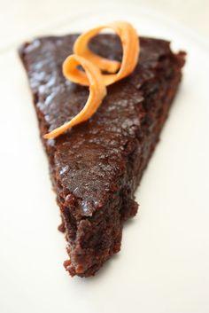 chokolatecake with sweetpotato